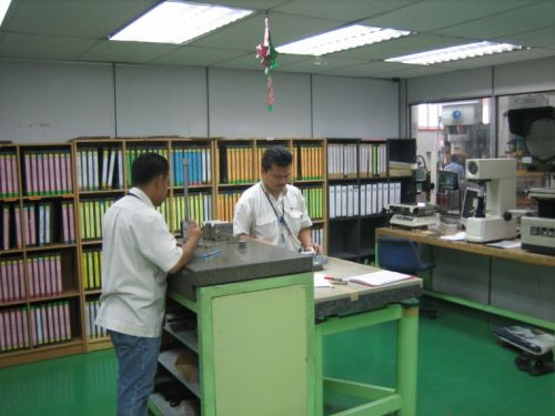 Quality Control Area