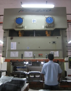 Stamping Process Area