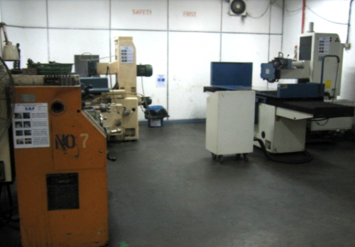 Tool Room Facilities